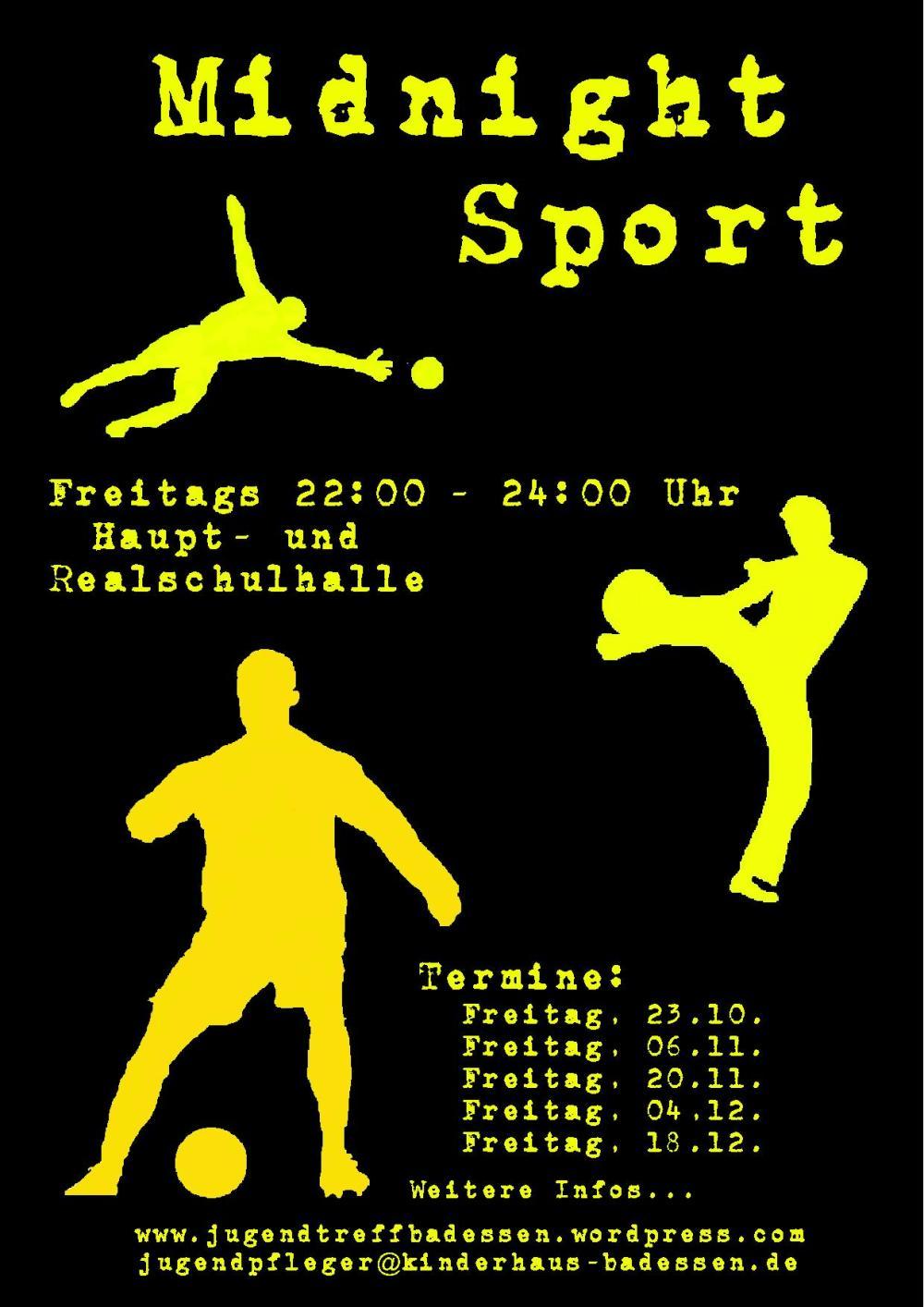 Plakat - Midnight Sport 09