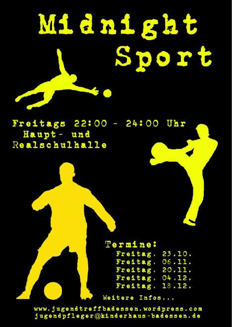 Plakat - Midnight Sport 09