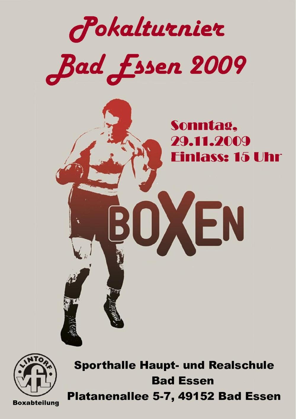 Plakat Boxen 2009