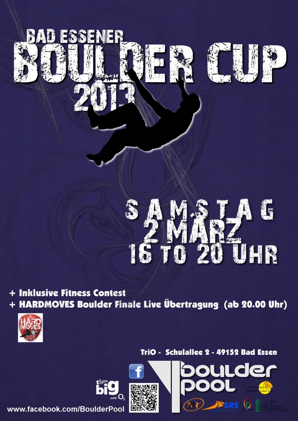 Plakat Boulder Cup