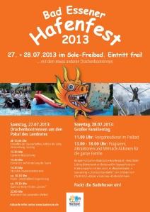 Hafenfest-Plakat