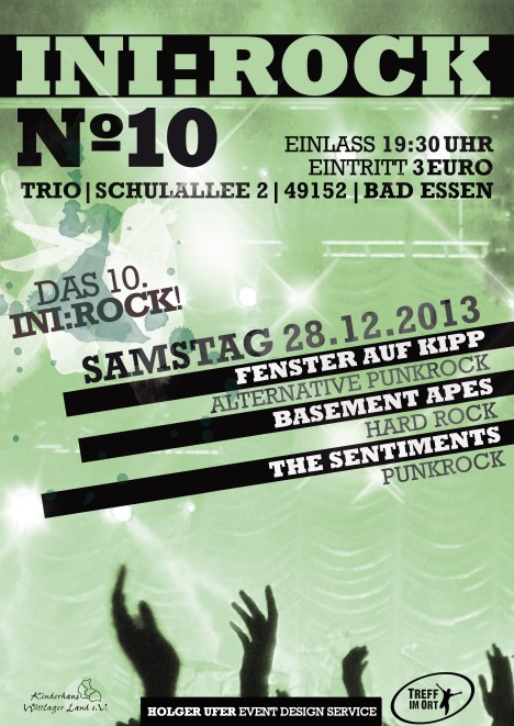 Flyer IniRock No. 10