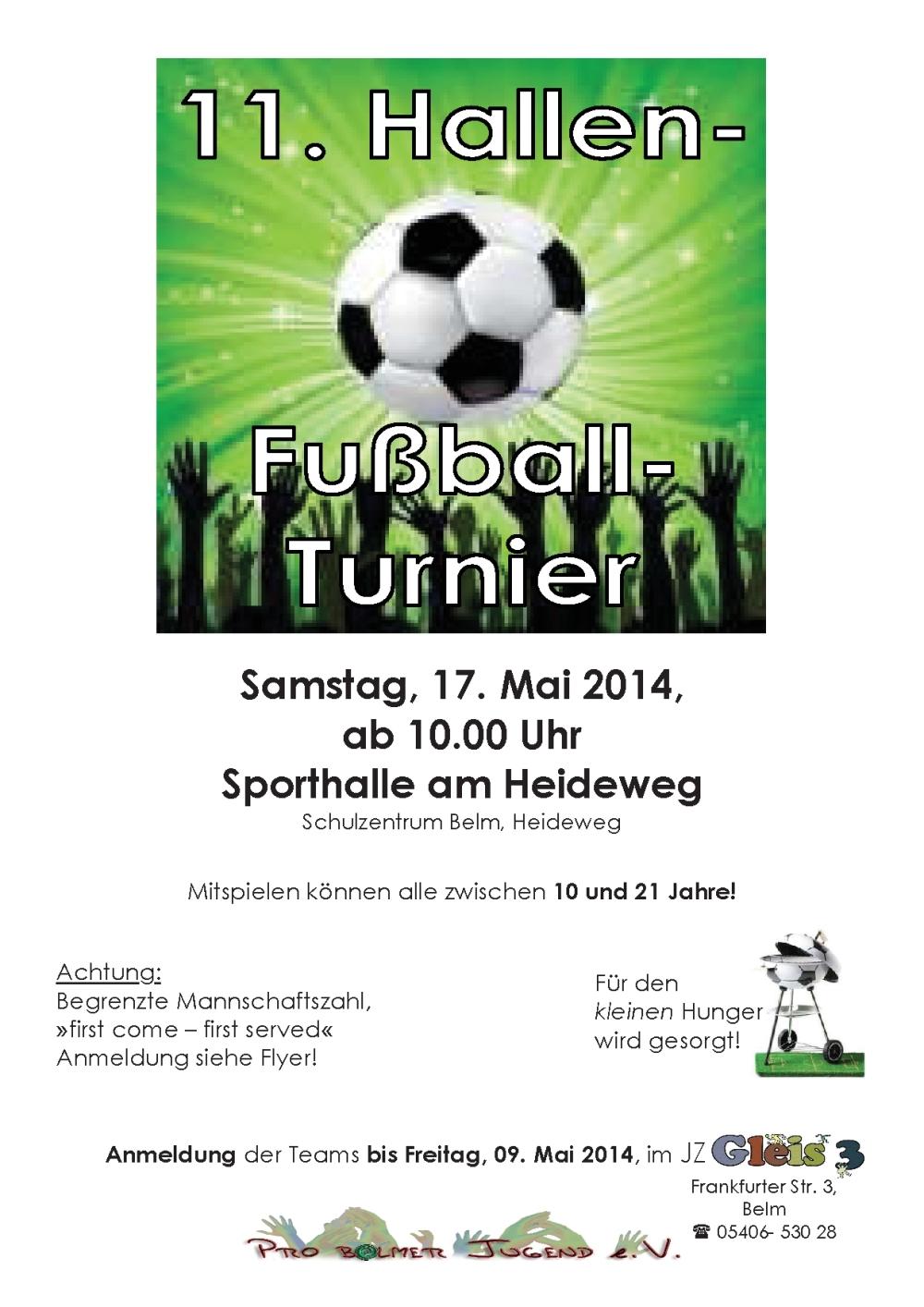 Plakat-Fußball-Hallen-Turnier 2014-Variante 2