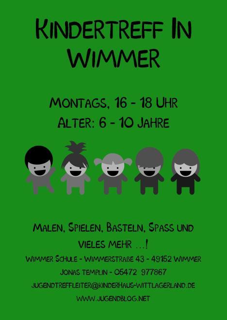 Kindertag Wimmer-Schule front Publisher 01.09.2014 grün2