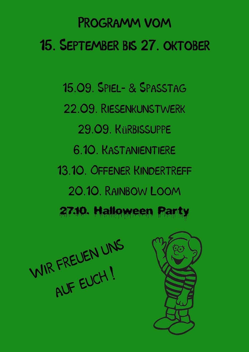 Kindertag Wimmer-Schule rück Publisher 01.09.2014grün