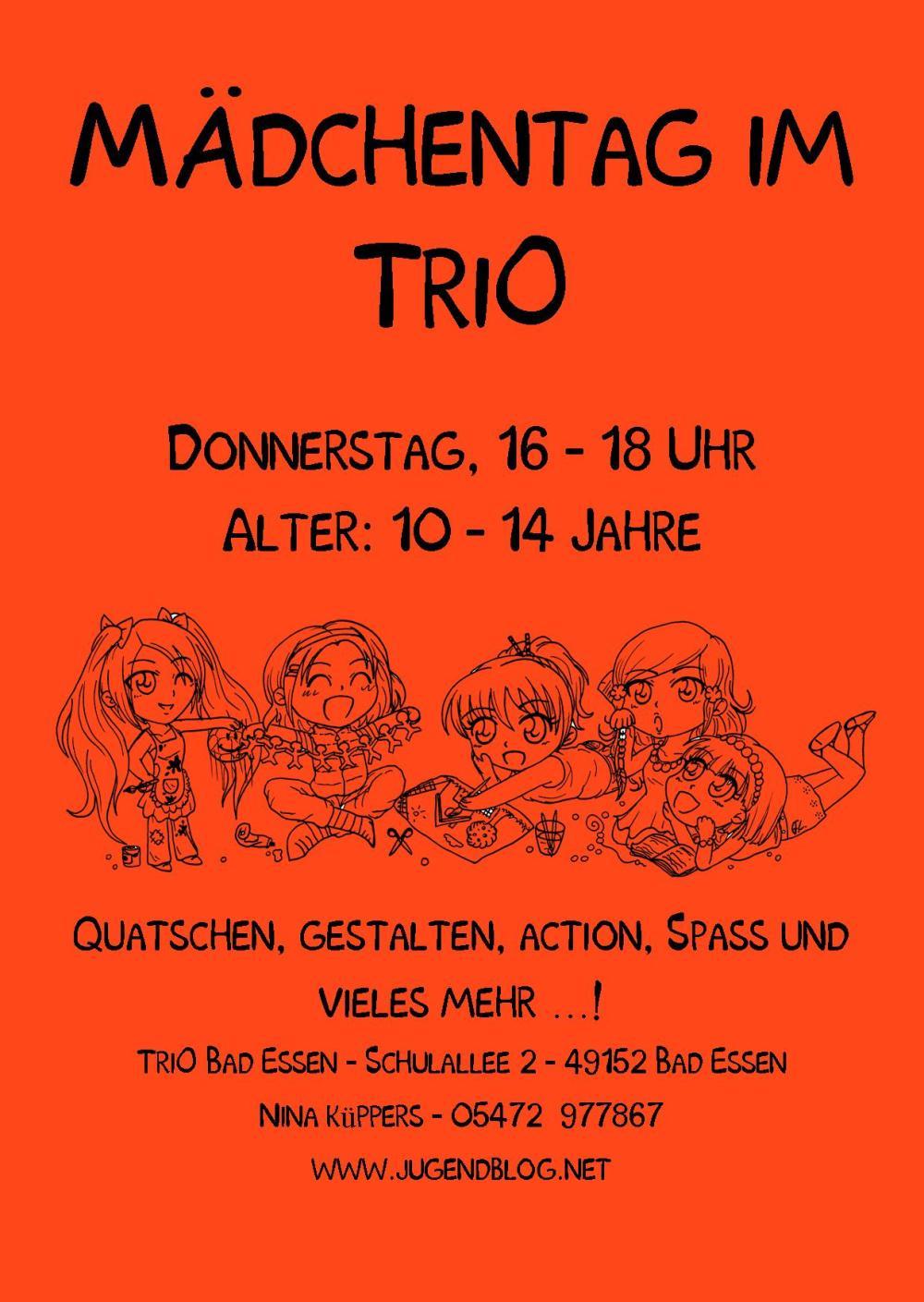 Mädchentag front Publisher Neu! n10-14