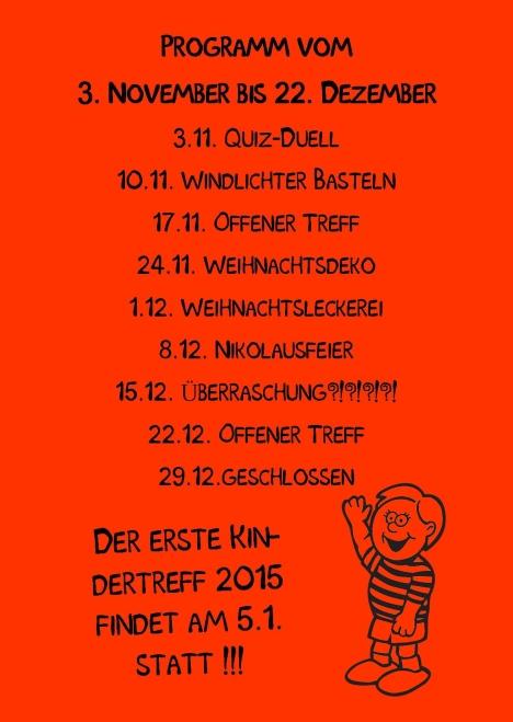 Kindertreff Wimmer-Schule rück Publisher 01.11.2014 rot