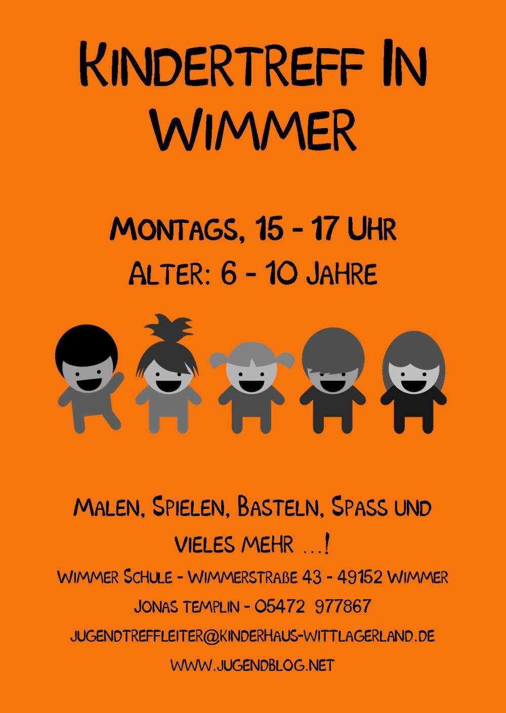 Kindertag Wimmer-Schule front Publisher 01.2015 Orange