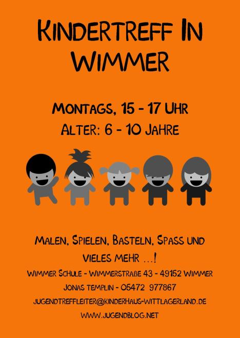 Kindertag Wimmer-Schule front Publisher 01.2015 Orange