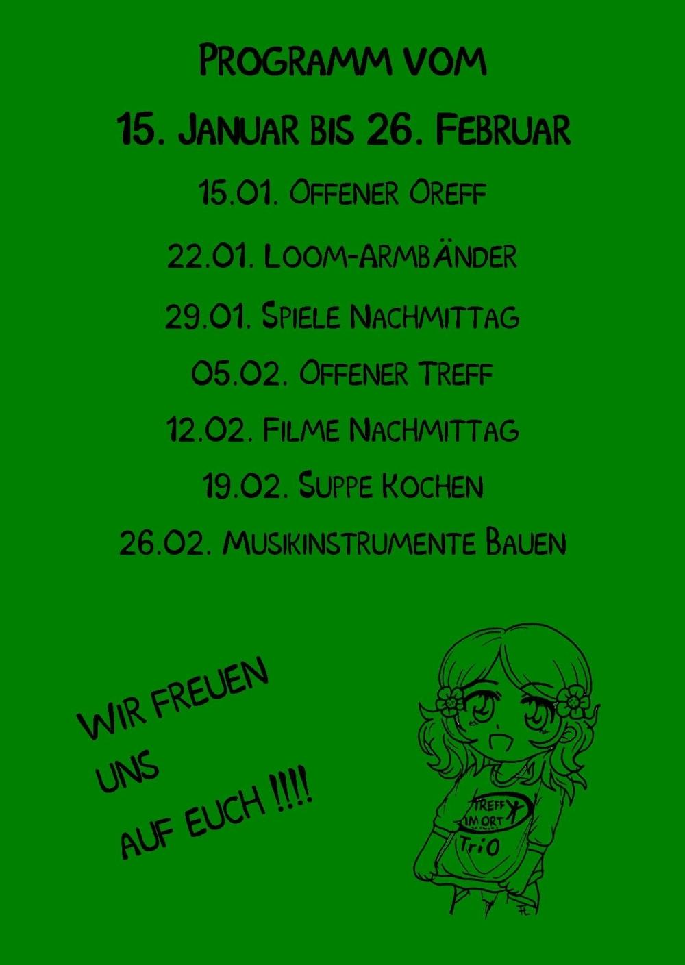 Mädchentag TriO rück Publisher 01.01.2015 grün