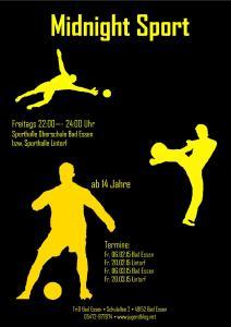 Plakat - Midnight Sport