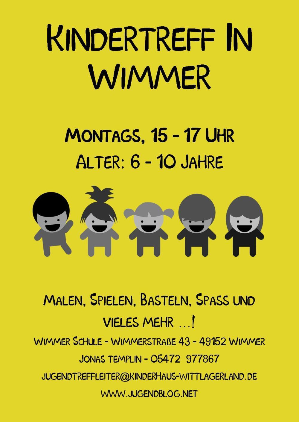 Kindertag Wimmer-Schule front Publisher 03.2015 Gelb