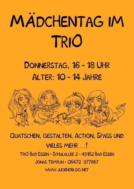 Mädchentag front Publisher 03.2015 Orange