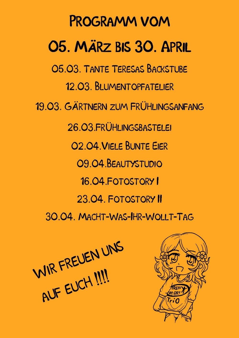 Mädchentag TriO rück Publisher  03.2015 Orange