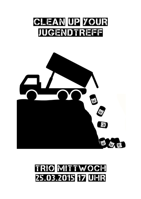 Clean up your Jugendtreff 2015