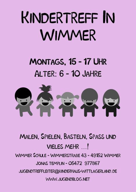 Kindertreff Wimmer-Schule front Publisher 06.2015 Lila