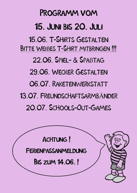 Kindertreff Wimmer-Schule rück Publisher 06.2015 Lila