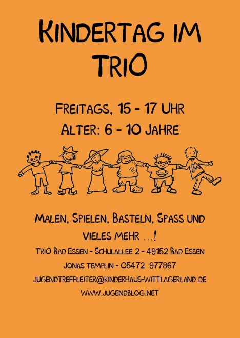 Kindertag TriO Front Publisher 06.2015 orange