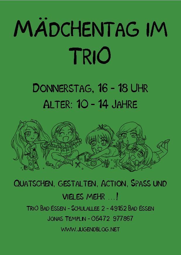 Mädchentag TriO Front Publisher  06.2015 grün