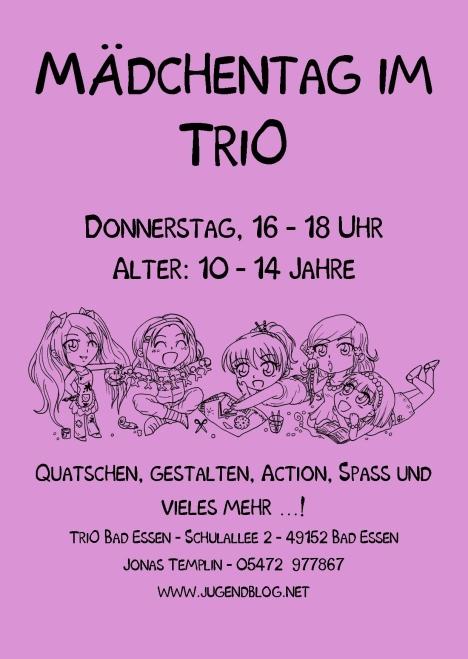 Mädchentag TriO Front Publisher  11