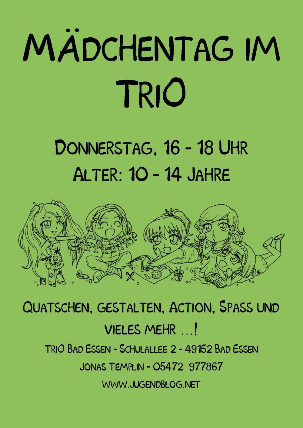 Mädchentag TriO Front Publisher web