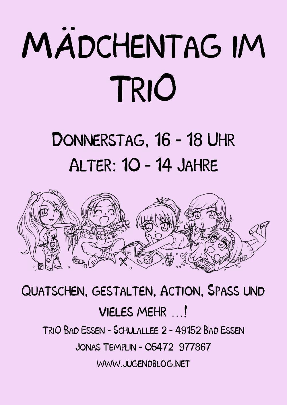 Mädchentag TriO Front Web