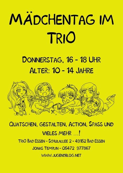 Mädchentag TriO Front Publisher 05.2016 gelb