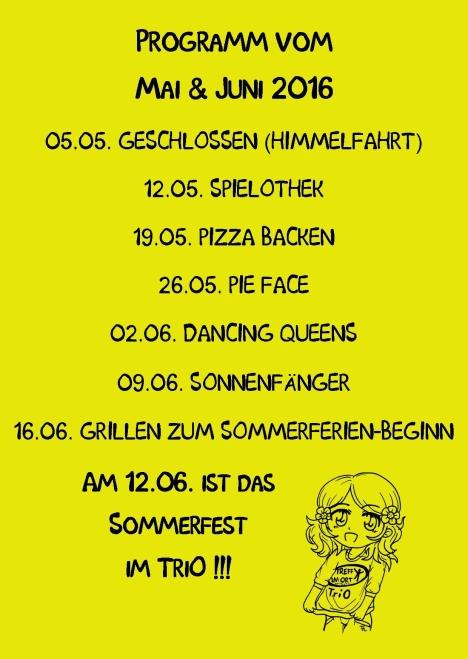 Mädchentag TriO rück Publisher  5.2016 gelb