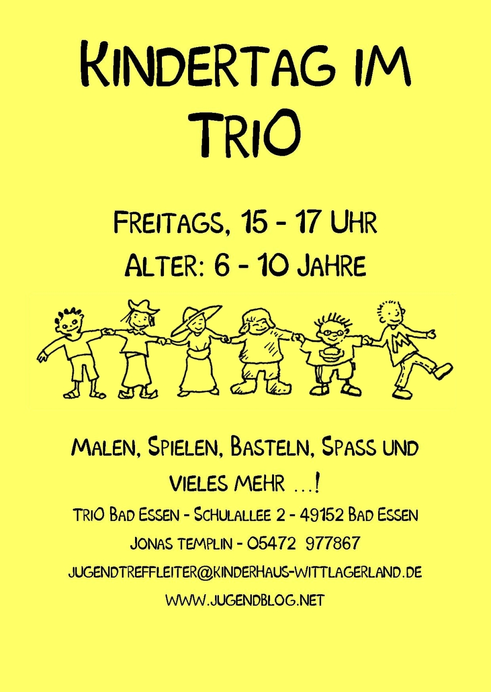 Kindertag TriO Front Publisher 08.2016 gelb