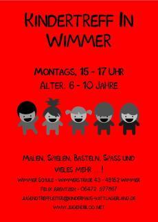 Kindertreff Wimmer-Schule front farbig