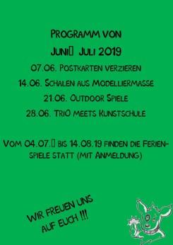 Kindertag TriO Juni-Juli 2019
